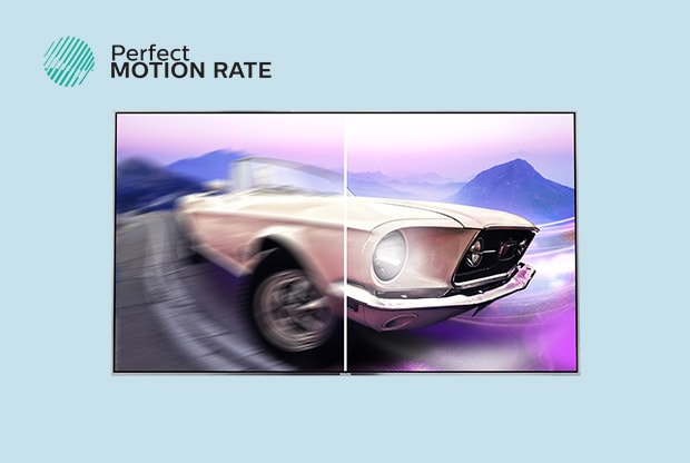 Philips TV Picture Quality Perfect Motion Rate