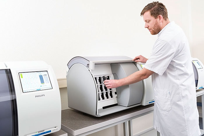 Philips IntelliSite Pathology Solution's ultra-fast scanner for tissue samples