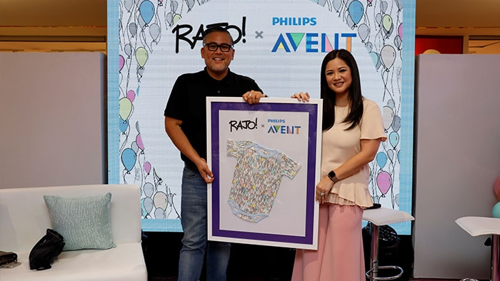 Partnership pf Rajo Laurel and Philips Avent